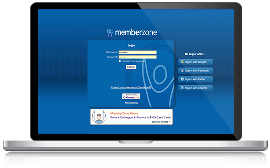 MemberZone Software Training Schedule