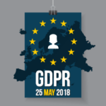 Image of GDPR map with deadline