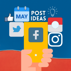 May Holidays for Association and Chamber Social Media