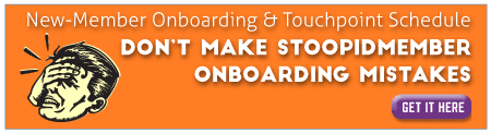 Avoiding stupid new-member onboarding mistakes