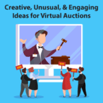 New and creative auction items for virtual fundraising event galas